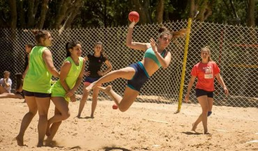 Entreamientos del Beach Handball